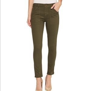 Sanctuary Army Green Jeans Ankle 25